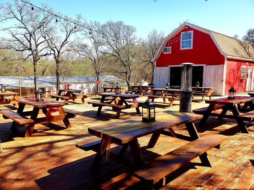 80 Outdoor Reception Area Fort Worth County Memories