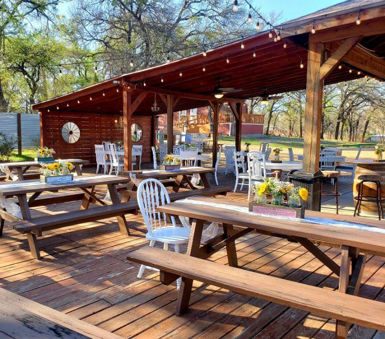 83 Outdoor Reception Area Fort Worth County Memories